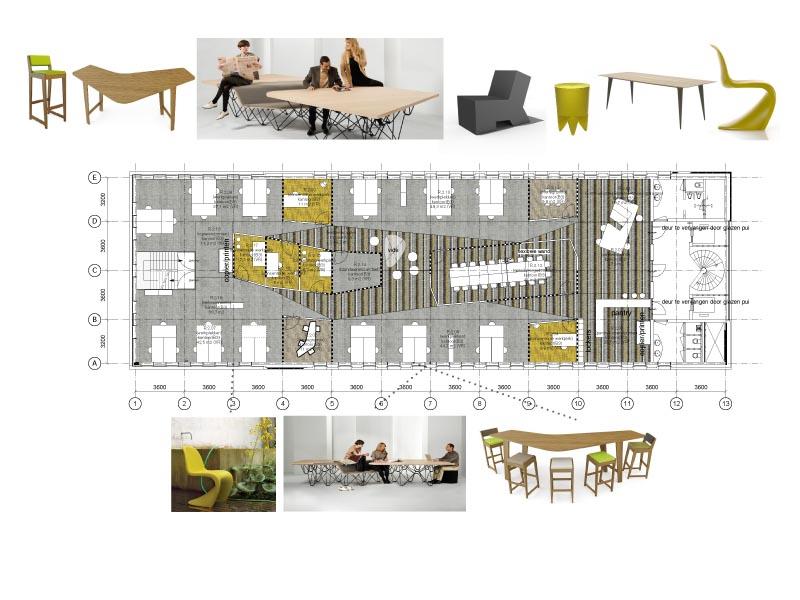 Interieurontwerp kantoorpand | Caspar Zijlstra
